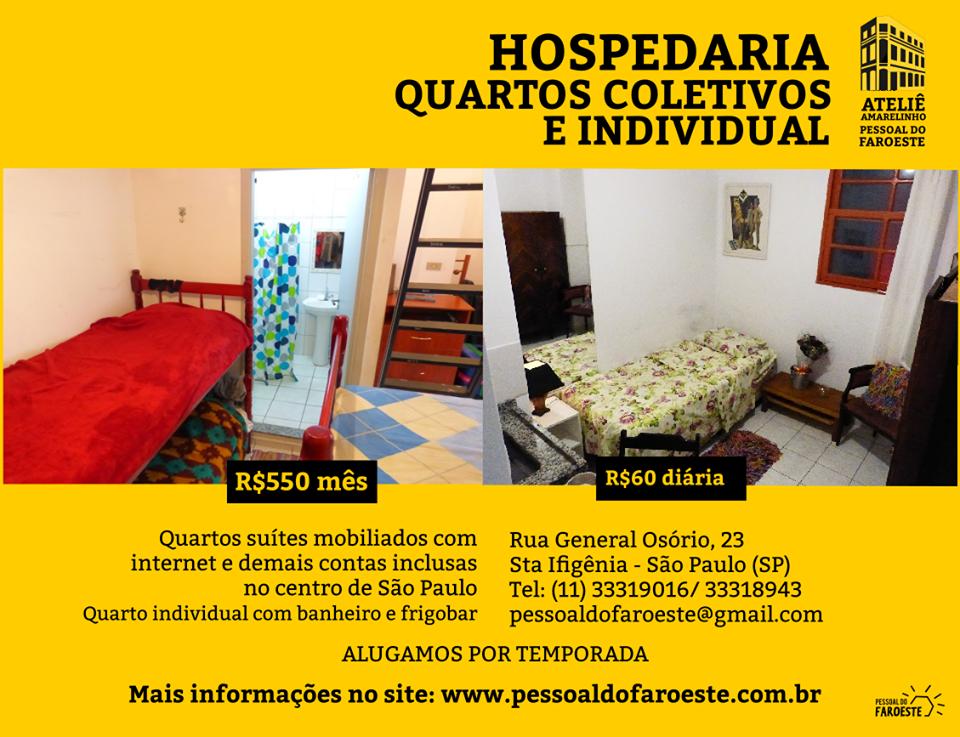 Hospedaria Amarelinho - SP / São Paulo